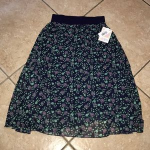 Lularoe Lola Skirt Size XS NWT